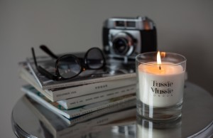 Tussie Mussie Candle Coffee Table